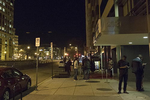 Shadow Room, a nightclub on K Street, shut down this week. Hatchet file photo by Charlie Lee | Hatchet Staff Photographer.