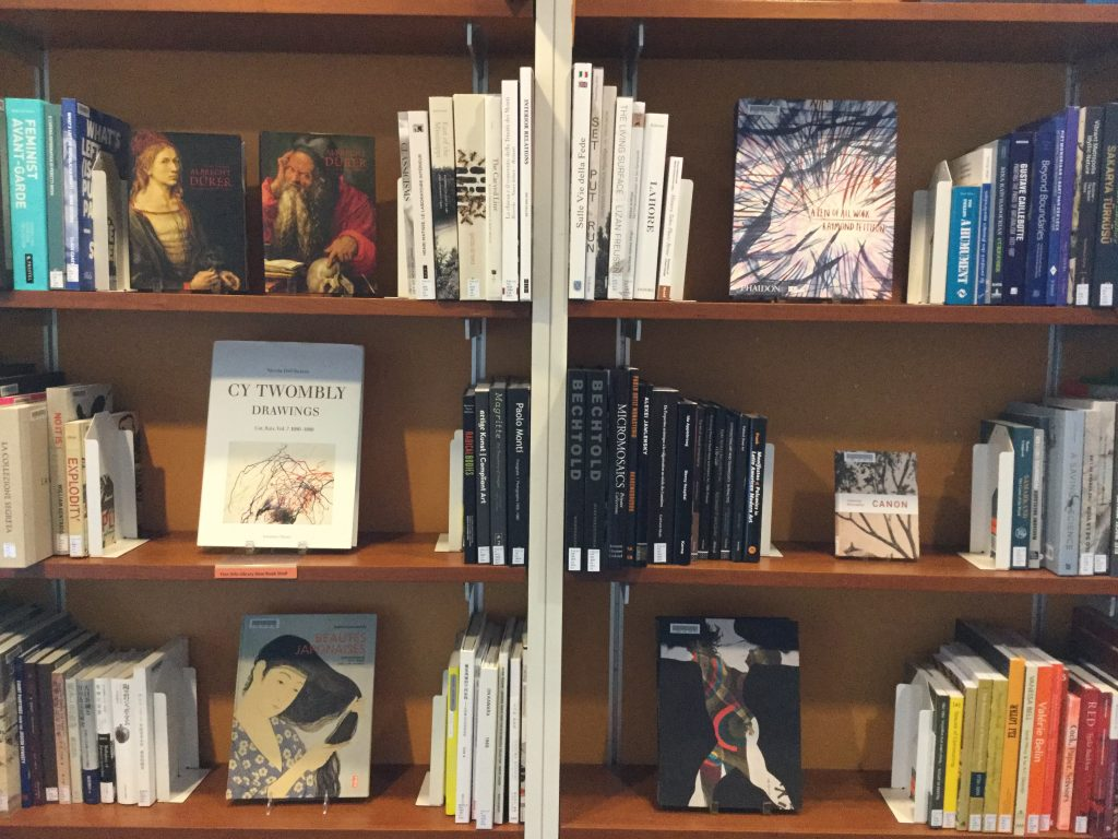 Libreria Soriano June 2017 Fine Arts Library Collections