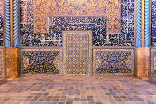 Iran's Sheikh Lotfollah Mosque is an architectural masterpiece of Safavid architecture. Its construction started in 1603 and was finished in 1618. Photo taken on August 23, 2007 in Isfahan, Iran.