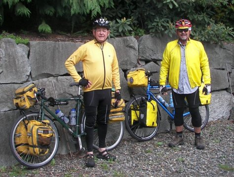 George and Dennis, retirees from southern California, headed down the coast in mid-May.