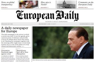#GEN2012: 'Exciting time' as European daily newspaper prepares for launch | Editors Blog ...