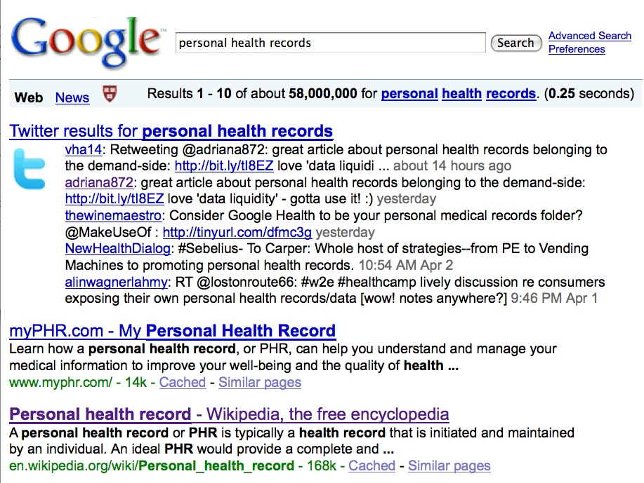 Doc Searls Weblog · personal health records