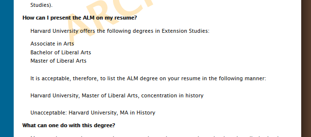 How To Write Resume For Master Degree How To Write A Functional Resume With Sample Resumes Harvard Extension School R233;sum233; Guidelines Are Bogus