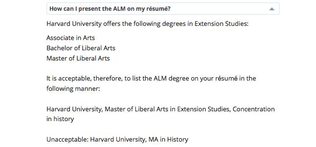 Harvard Extension School résumé guidelines are bogus Ipso Facto - resume guidelines