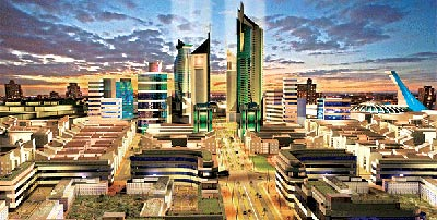 Konza Techno City, Kenya (Source: www.bbc.co.uk)