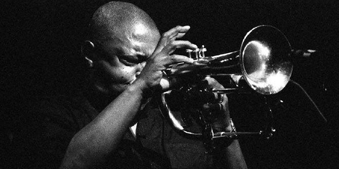 South African trumpeter Hugh Masekela