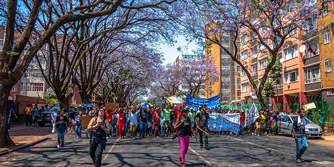 Mobilising through Social Media: The Case of South Africa