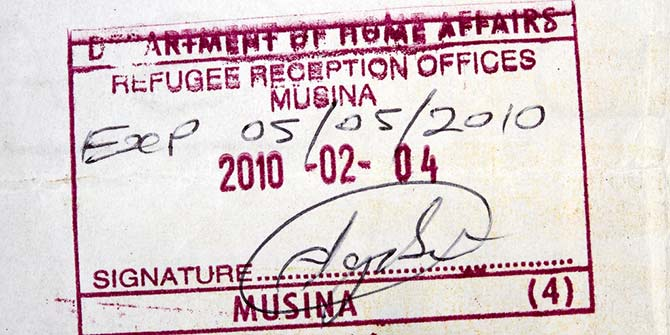 African refugees in South Africa are often unable to access their rights