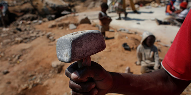 Photo Blog: Artisanal Gold Mining in South Africa