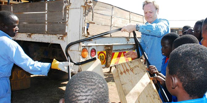 Kids in Need of Desks; a Continent in Need of a Moral Overhaul