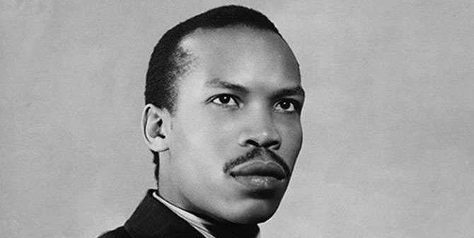 A young Seretse Khama who would later become the first President of Botswana