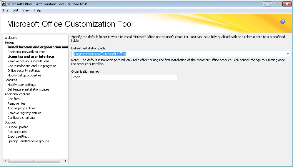Migrating to Microsoft Office 2010 using Desktop Central