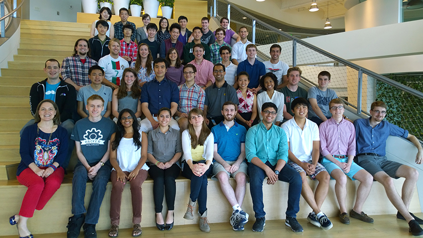 The Foundry Welcomes 40 Summer Interns - Microsoft New England - interning at microsoft