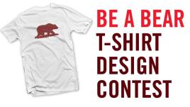 be a bear t'shirt design logo