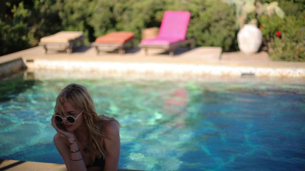 A Bigger Splash: The pool