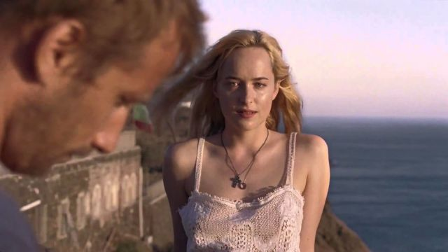 A Bigger Splash: The visiting girl