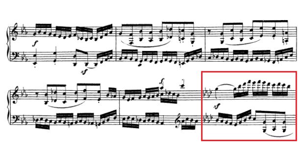 Beethoven op. 111 - 1. Satz - Takt 44