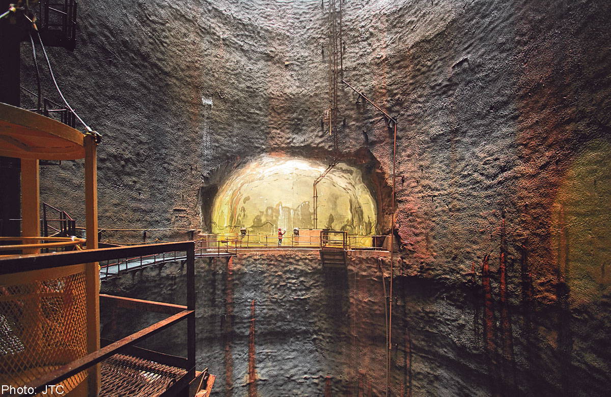 Jurong Rock Caverns Subterranean Development Conservation