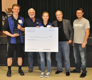 Finnovators from Newport High School 2016 1st place Ranger Class