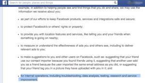 FacebookPrivacyExperiment