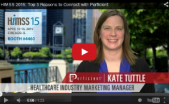 Top 3 Reasons to Connect with Perficient at #HIMSS15