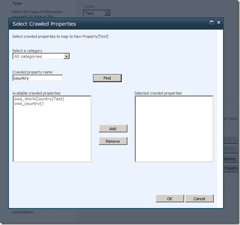 addmapping