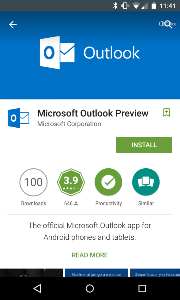 Hands on with new Microsoft Outlook for Android