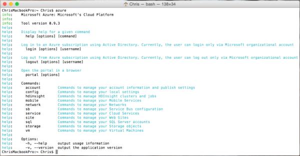Xplat-CLI-on-OSX