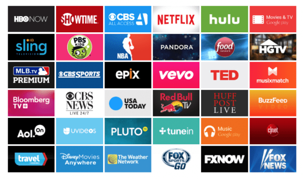 Android TV Apps