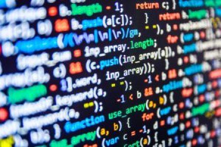 Image of scripting code