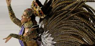 Images from Brazil's Carnival celebrations - Part 2