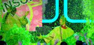 A slimey good time at the 26th annual  Nickelodeon Kids' Choice Awards