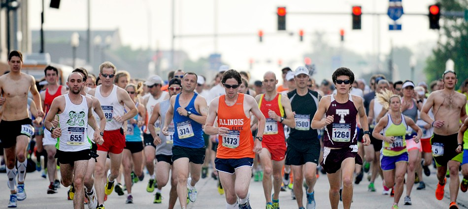 Inaugural Run River City Marathon