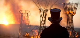 Israel desert ablaze with 'Burning Man'