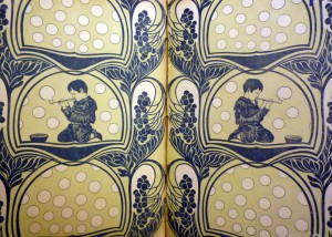 Endpapers Cotsen 91566