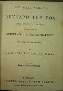 Title page for the 1st ed.; note differences in imprint info from the 3rd ed.
