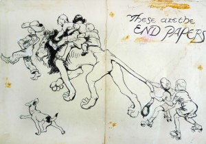 andyandthelionendpapers