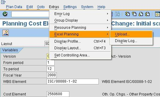 WBS- Integrated Excel Planning SAP Blogs