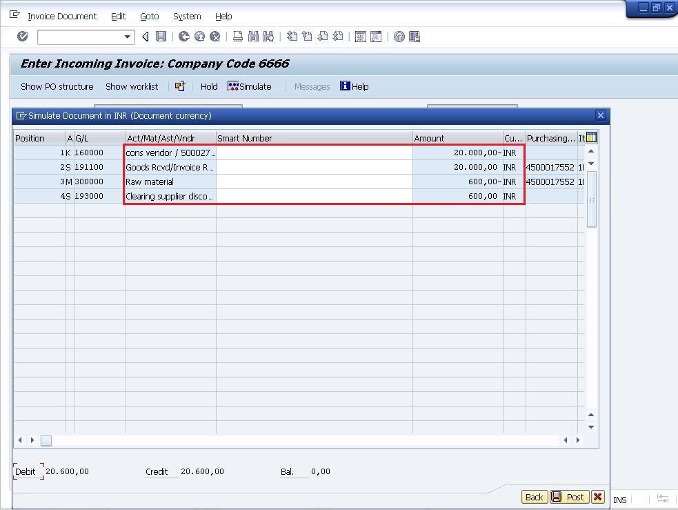 Gross Invoice Posting (RE) v/s Net Invoice Posting (RN) SAP Blogs