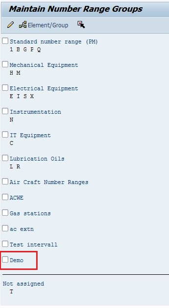 Want to learn about Number Ranges? SAP Blogs - mechanical equipments list