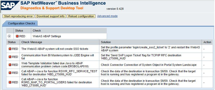BI-JAVA, BEx Web and EP the real connection \u2026 SAP Blogs