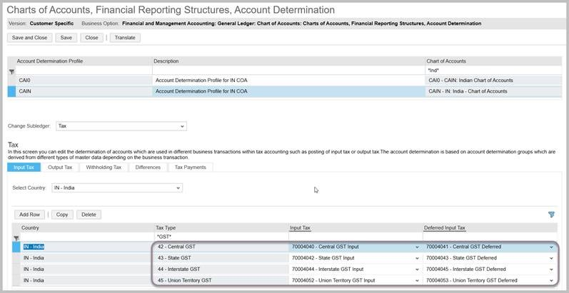 GST \u2013 Documentation for Self Invoicing in SAP ByDesign (ODN - invoice creation