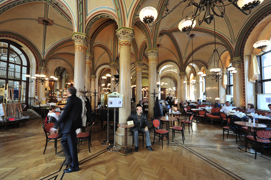 The Once And Future Coffeehouses Of Vienna Arts