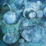 Blue Throat, by Leah Fanning Mebane