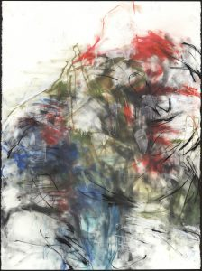 Au Naturel 2014 - Image of mixed media Painting by Don Copper
