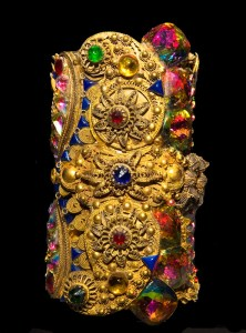 Ornate Museum Cuff by Wendy Gell