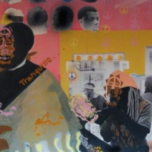 Modou Dieng & Devon A. VanHouten-Maldonado, TRANQUILLO, 2014, mixed media