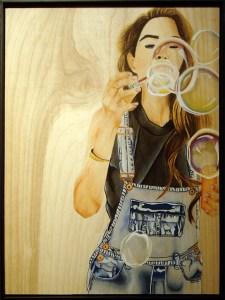 """""""Bubbles,"""" by Alondra Flores"""