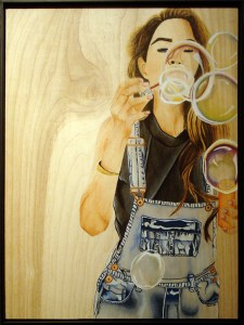 """Bubbles,"" by Alondra Flores"