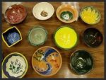 Empty Bowls Pizza Party at Ashland Art Center on April 8, 2015! Make you bowl to donate to this year's Emty Bowls event in Ashland!